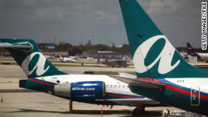 AirTran's parent company says the crew decided to accommodate the passengers on another flight.