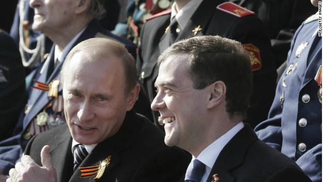 2008 Putin was constitutionally obliged to stand down as president, but stayed close to power becoming prime minister for Dmitry Medvedev