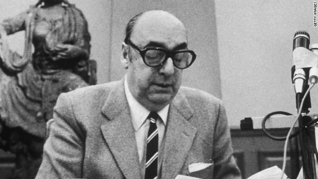 Chile exhuma el cuerpo de Pablo Neruda para saber si fue asesinado