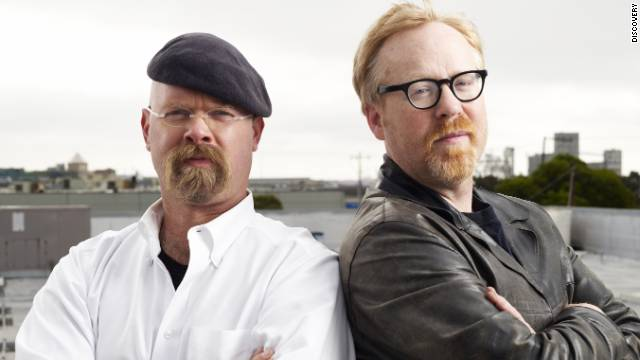 'MythBusters' cannonball sails through neighborhood