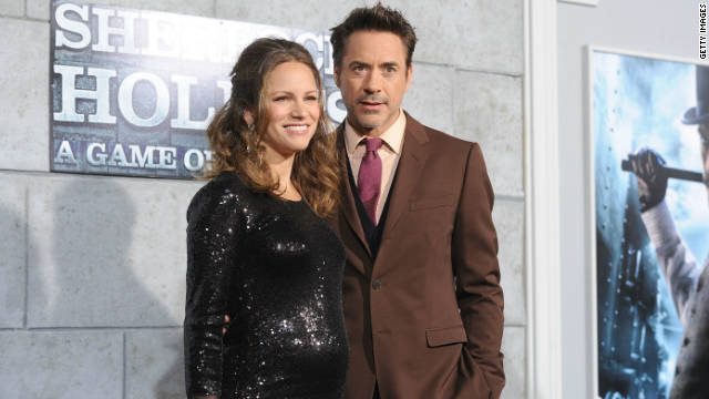 Robert Downey Jr., wife Susan welcome son Exton