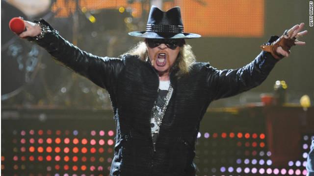 Guns N' Roses y Red Hot Chili Peppers se unen al Salón de la Fama del Rock & Roll