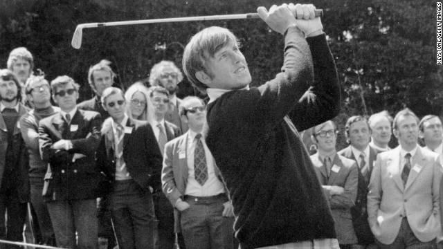 English golfer Peter Oosterhuis dominated the European Tour's early years, winning the points list from its birth until 1974.