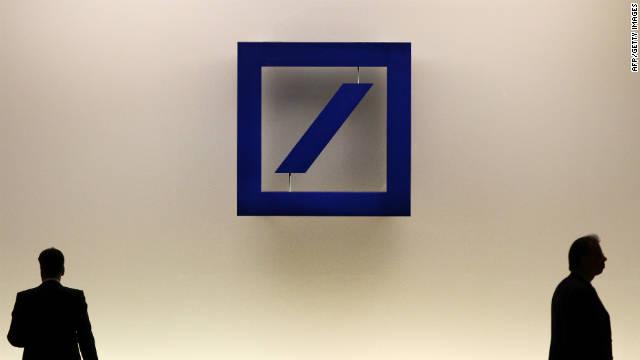 Investigators in Germany are examining a bomb sent to Deutsche Bank executive Josef Ackermann