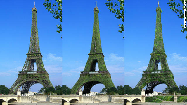"Should the Eiffel Tower become the largest ""tree"" in the world?"