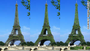 Could Eiffel Tower become world's largest tree?