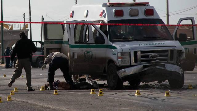 Un ataque a tiros contra una ambulancia en Ciudad Juárez deja cuatro muertos