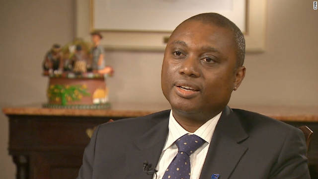 Sim Tshabalala, deputy CEO of Standard Bank, says environmental sustainability is important in the long term.