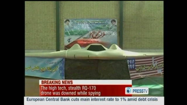 Debate over whether Iran is showing a real drone