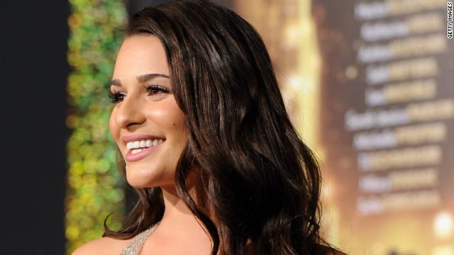 Lea Michele explains name change to Leno