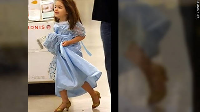 Manolo Blahnik doesn't approve of Suri's high heels