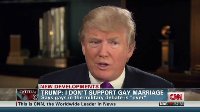 trump gay marriage