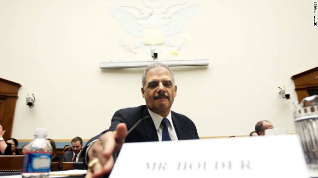 U.S. Attorney General Eric Holder has faced congressional questioning on the 