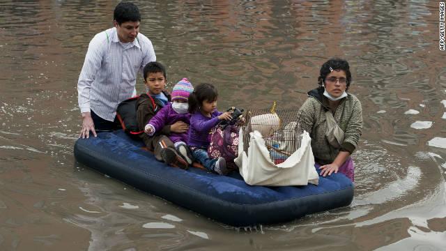 Más de 130 muertos por temporada de lluvias en Colombia