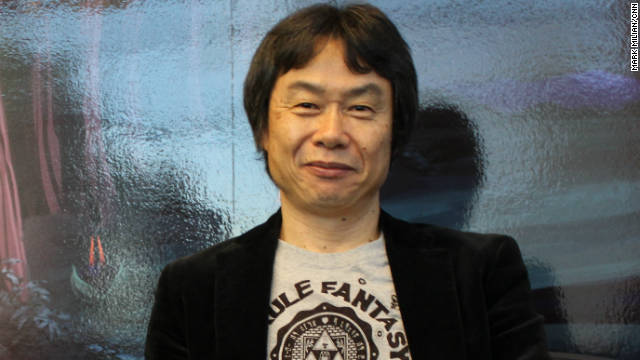 Shigeru Miyamoto, Nintendo's game visionary, says he wants to work on fresh ideas.