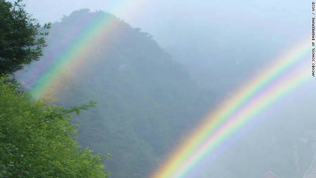 Seeing double: Researchers find rainbow connection