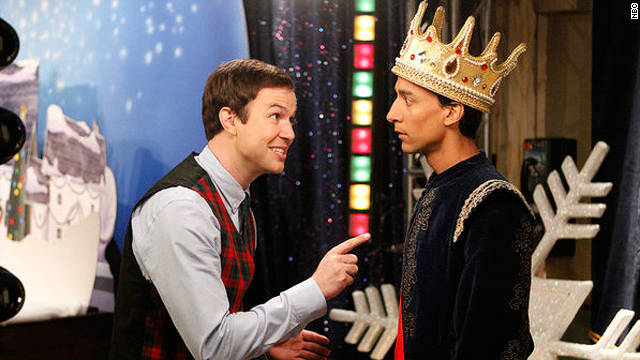 A gleeful, musical 'Community' holiday