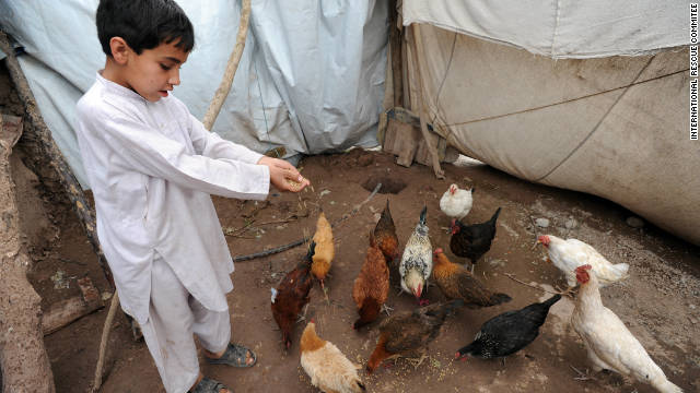 "More and more aid organizations are offering charity ""gift catalogs"" that offer tents, water cans, even livestock and poultry for families in need. For as little as $30, <a href='http://gifts.rescue.org/' target='_blank'>you can buy a flock of chickens for a needy family from International Rescue Committee</a> as a ""symbolic gift"" for a friend or relative. The charity will often mail a beautiful holiday card to your loved one with a personalized message from you. So if you don't want another pair of slippers or scented lotion set this year, make sure to tell your family and friends about this great gift idea."