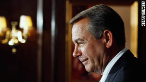 House Speaker John Boehner said the package is