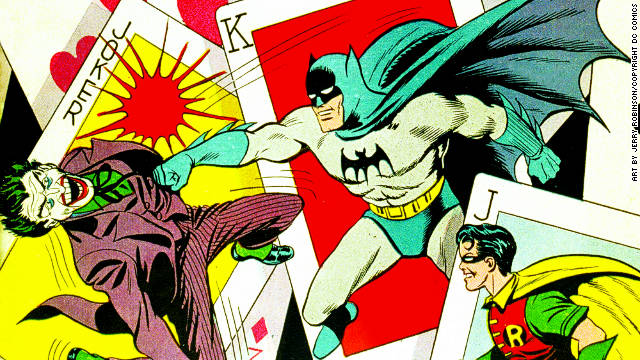 Batman cartoonist Jerry Robinson dies