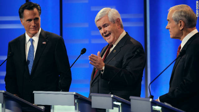 Republican voters haven't enthusiastically backed any of the top candidates, including Mitt Romney, Newt Gingrich and Ron Paul.