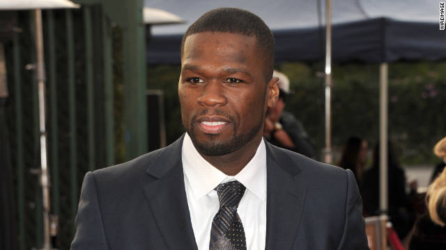 Rapper Curtis '50 Cent' Jackson.