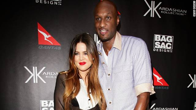 "<a href='http://www.tmz.com/2013/12/13/khloe-kardashian-files-legal-docs-divorce-lamar-odom/' target='_blank'>According to TMZ</a>, Khloe Kardashian filed for divorce from Lamar Odom in December 2013. The couple met, got engaged and married within a month in 2009, and they were the subject of the E! reality series <a href='http://www.eonline.com/shows/khloe_and_lamar' target='_blank'>""Khloe &amp; Lamar.""</a>"
