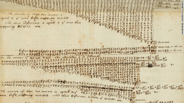 A huge collection of manuscripts and notes by pioneering scientist Sir Isaac Newton are being made available online by Cambridge University Library.