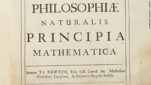 "Newton's annotated copy of his most famous work, ""Principia Mathematica,"" is among the works added to the online archive."
