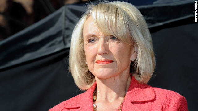 Gov. Jan Brewer said she stands