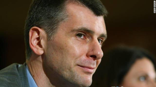 Brooklyn Nets owner and Russian billionaire Mikhail Prokhorov says he may move the team's ownership to Russia.