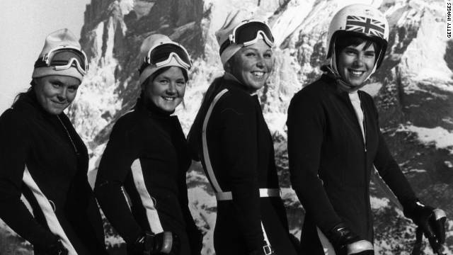 She was captain of the British ski team and competed at the Winter Olympics ...