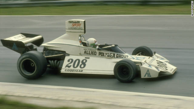 Filippis was succeeded by compatriot Lella Lombardi, whom produced her own part of F1 history inside 1975. While driving for March at which year's Spanish Grand Prix, Lombardi became the initially, plus just, girl to register a point-scoring finish inside a grand prix.