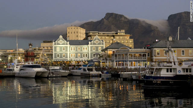 Be entertained with African drums at Victoria and Alfred Waterfront, in Cape Town, South Africa.