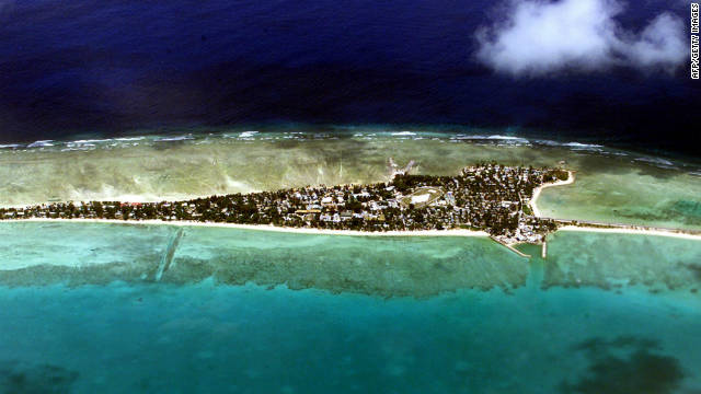 Be one of the first in the world to enter into 2012 in the Pacific nation Kiribati.