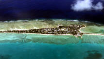 Tarawa is one of the atolls which make up the Kiribati Islands.