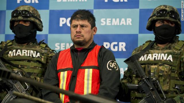 «El Lucky», presunto fundador de Los Zetas, es detenido por la Marina mexicana