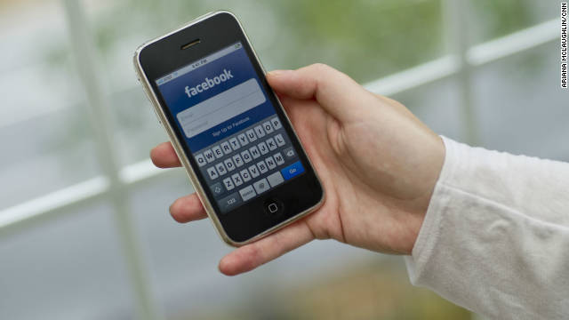 Facebook users spend more time accessing the site via mobile than on computers, a new report says