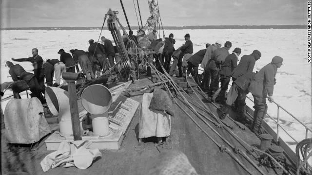 Hallados en la Antártida negativos fotográficos de la expedición de Shackleton