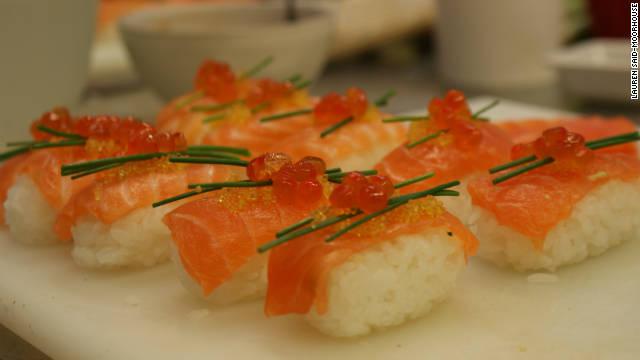 Making sustainable sushi