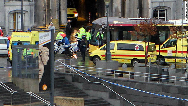 Prosecutors are say the man who went on rampage in Liege left no explanation