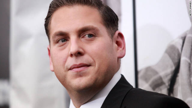 "This roly-poly funnyman stunned onlookers in July when he showed up at an awards show looking dramatically thinner. The ""Superbad"" star, who slimmed down for a role in the upcoming film ""21 Jump Street,"" said he didn't know how much weight he'd lost, but estimates in the press ranged from 30 pounds to 40 pounds. ""Not fun,"" Hill told the Los Angeles Times about his new diet."