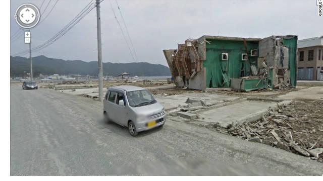 Google muestra los estragos causados por el sismo y el tsunami en Japón