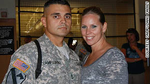 Marc and Lanita Campuzano married after Marc graduated from high school. Their anniversary is September 11.