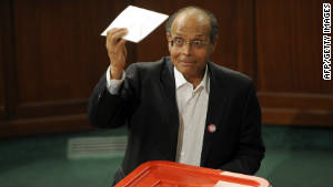 Moncef Marzouki, Tunisia\'s new president, is known for his firebrand style and his opposition to the old regime.