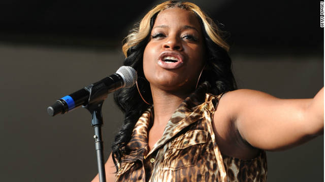 Fantasia Barrino announced her pregnancy in August at a Florida concert, but has not publicly named the father.