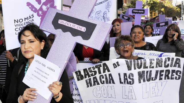 El «feminicidio» en México será castigado hasta con 60 años de cárcel