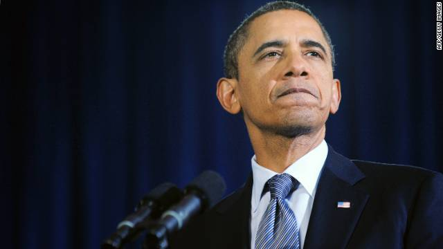 President Obama says Congress should stay in session until both the spending bill and the payroll tax cut measure have passed.