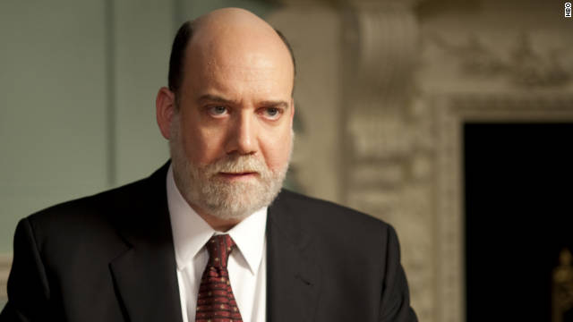 "Paul Giamatti, ""Too Big To Fail""; Laurence Fishburne, ""Thurgood""; Greg Kinnear, ""The Kennedys""; Guy Pearce, ""Mildred Pierce""; James Woods, ""Too Big to Fail"""