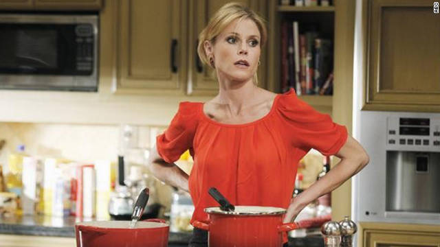"Julie Bowen, ""Modern Family""; Edie Falco, ""Nurse Jackie""; Tina Fey, ""30 Rock""; Sofia Vergara, ""Modern Family""; Betty White, ""Hot in Cleveland"""
